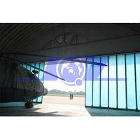 High Strength Grp Panel Side Sliding Aircraft Hangar Door
