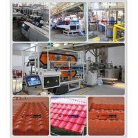 ASA+PVC composite roof tile machine/synthetic resin roof tile thumbnail image