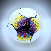 2020 new design soocer ball training ball with size 5 PU leather