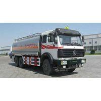 Beiben tanker truck 6x4, fuelling truck, North Benz, Mercedes-Benz technology
