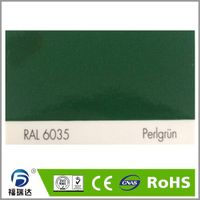 RAL6035 Pearl green high glossy spray powder plastic paint