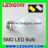360 degree beam angle E27 B22 Glass Frost A60 A19 led globe bulb thumbnail image