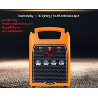 Lithium Ion Battery Portable 220v Solar Power Station Solar Inverter