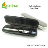 Ecannal pen style slim single ecig kit zipper packing case
