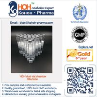 HGH for injection pen, dual viale Chambers