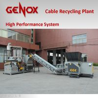 Cable Recycling Plant / Recycling System/plastic machine/plastic shredder