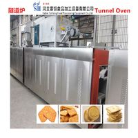 SAIHENG potato chips baking tunnel oven / fruit baking tunnel oven