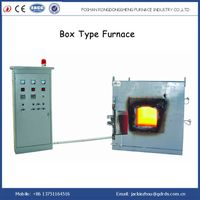 Box type atmosphere controlled electric resistance furnace