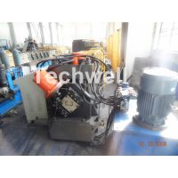 Galvanized Coil C Channel Roll Forming Machine, C Purlin Roll Forming Machine With Chain Transmissio thumbnail image
