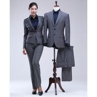 Formal Suits for Business Unisex Shirt Jacket Pants Wool thumbnail image