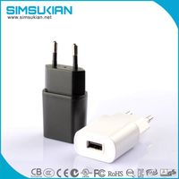 KC marked 5v 0.5a 1a 1.5a ac dc wall munt power adapter thumbnail image