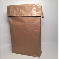Open-type paper bags/sack, multilayers