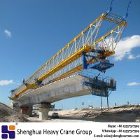 Box type bridge girder crane overhead launching gantry machine