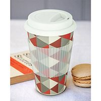Heat Resistant Bamboo Fiber Travel Coffee Mug For Sale