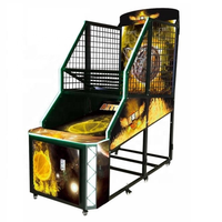 Arcade game machine coin operated indoor basketball shooting game machine thumbnail image