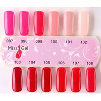 fascinating nails fashion 8ml gel polish supplier