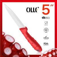 Brand New Design 5 Inch Octopus Handle Utility Ceramic Knives thumbnail image
