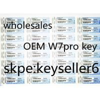 2016 100% work online OEM windows 7 pro/ult key coa sticker for sale