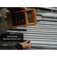 PSB830,PSB930,PSB1080 high strength steel bar /prestressed anchorage/post tension bar