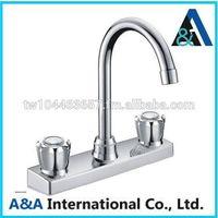 A09-0016 Dual Handle Plastic Faucet Mixer