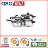 high quality induction Stainless steel 8pcs Cookware Set-CW18