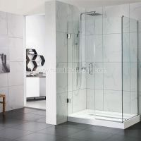 Frameless Hinged Shower Door