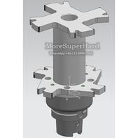 PCD compound reamer for processing Motor shaft hole thumbnail image