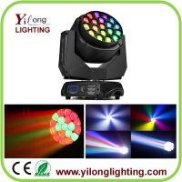 19PCS RGBW bee eyes moving head wash,led moving head light,China moving head,DJ light