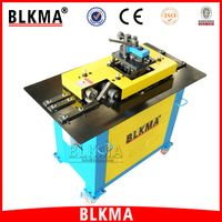 BLKMA Hot sale products square duct pittsburgh lock former for air duct production line