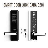 Smart fingerprint door lock BABA-8201 Swipe Card electronicOpening Keyless Entry Handle Door Lock