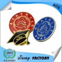 factory custom-made metal enamel lapel pin badge emblem with high quality in China