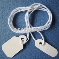 Garment Tags, Packaging Label, Price Tag ,Gift hang tag, Prestrung Jewelry Tags, of Small Size and S thumbnail image