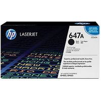 Original and New HP CE260A LASERJET 647A ORIGINAL TONER CARTRIDGE - BLACK