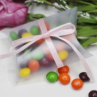 Small clear plastic boxes Pillow Favor Box, Gift Box for Baby Shower Wedding Favors Boxes Supplies