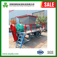 China Customized single shaft wooden furnitures shredder - China tire shredder prices, wood pallet s thumbnail image