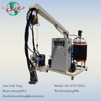 High pressure insulation spray tray polystyrene machine for making plastic lumber