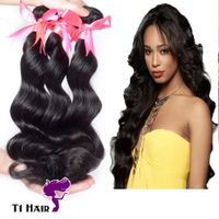 Hair Best Quality Grade 7A Brazilian Virgin Human Hair Extensions Brazilian Loose Wave