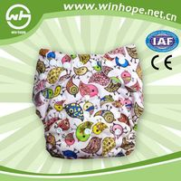 2014! Hot Sale Reusable wholesaler hot diaper girls washable baby cloth diapers