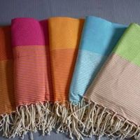 Tunisian Peshtemal fouta cotton beach and bath towel thumbnail image