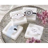 Personalized Scented Soap (Wedding)