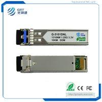 G-3101DNL SFP 1.25G 1310nm 10km hot pluggable Optical Transceiver Module thumbnail image