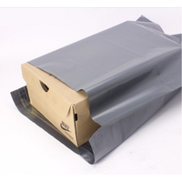 China factory cheap grey black poly mailing envelope mailer bags