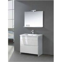 china high gloss white rustic bathroom cabinet
