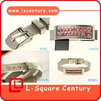 Diamond jewelry watch usb flash driver with high quality factory price made in china