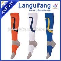 Factory Design Fashion Stripe Terry Cotton Football Socks thumbnail image