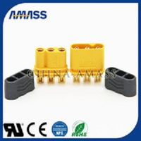 Amass gold plated 3pin connector,3pin connector MR30 for controller.