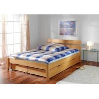 bedroom furniture for solid wood double bed
