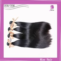 Silky Straight Remy Human Hair Weaving High Quality