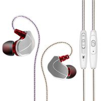 New YUYUE X6 fashion In-ear sport earphone with metal cavity onekey drive-by-wire Sports wired headp