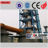 China Supplier Zinc Oxide Rotary Kiln Production Line